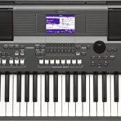 Yamaha PSR-S670 Keyboard dunkelgrau